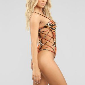 Other - ❤️ Brazilian Tiger Swimsuit Large 5 STAR